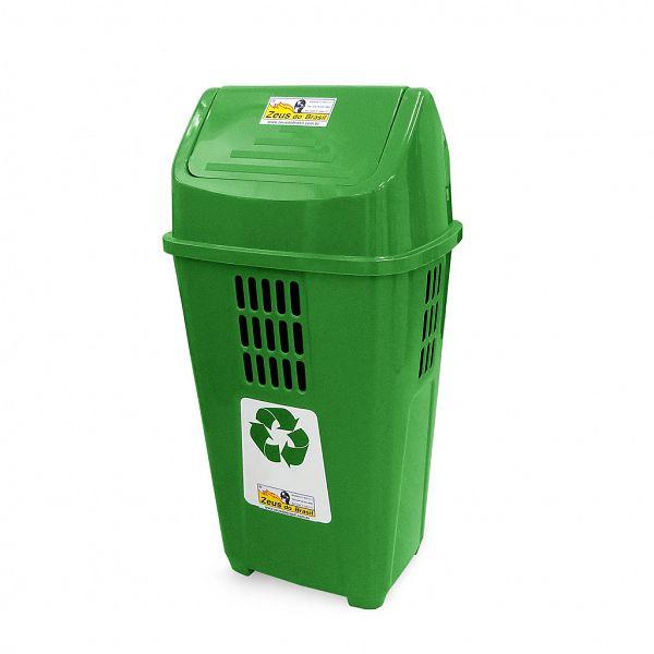 Lixeira ecológica 50L - Verde (Vidro)