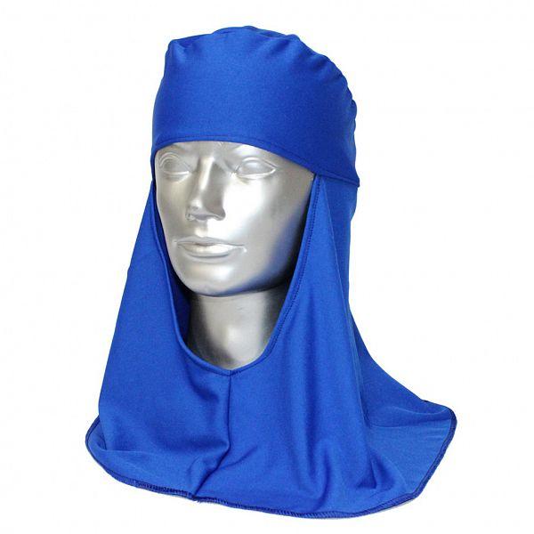 Touca árabe helanca azul - soldador