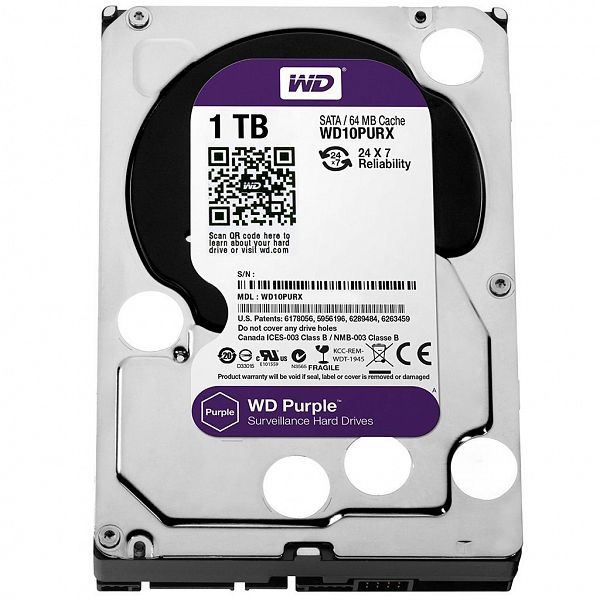 HD 1 TB - Purple 64MB WD