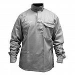 Camisa eletricista cinza classe 1 e 2 SEM refletivos
