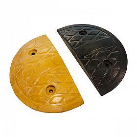 Acabamento para lombada amarela/preta (Par)