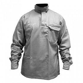 Camisa eletricista NR10 risco 2 cinza classe 1 e 2 SEM refletivos -