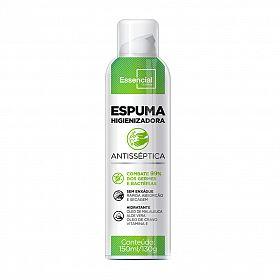 Espuma Higienizadora e Hidratante Essencial 150ml/130g