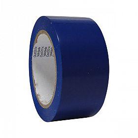 Fita adesiva demarcação solo 4,5cmx30m azul