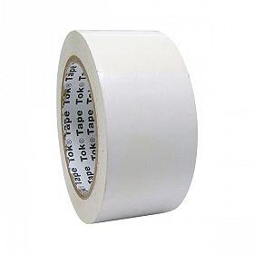 Fita adesiva demarcação solo 4,5cmx30m branca