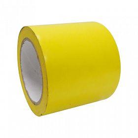 Fita adesiva demarcação solo 9,5cmx30m amarela