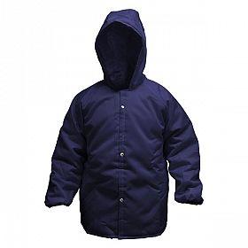 Japona nylon para câmara fria ( -35ºC ) GG - azul com capuz