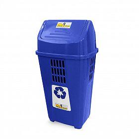 Lixeira ecológica 50L - Azul (Papel)