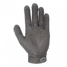 Luva malha de aço 5 dedos 1 peça