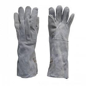 Luvas extra de raspa com costura de algodão - punho