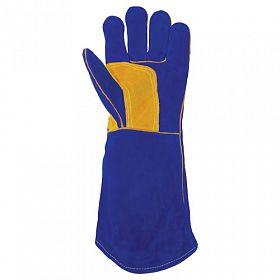 Luvas soldador 5 dedos / alta temperatura até 500 ºC