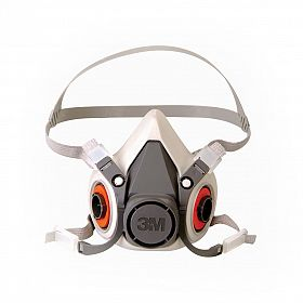 Máscara 3M 6100 Semifacial reutilizável