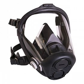 Máscara facial inteira silicone para 2 filtros - Opti-fit