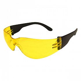 Óculos proteção Kalipso modelo esportivo lente âmbar