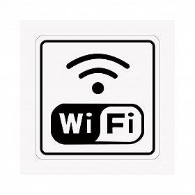 Placa wi-fi de PVC 15 x 15cm