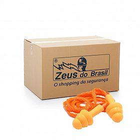 Protetor auricular em silicone farmacêutico - Caixa com 100 unidades