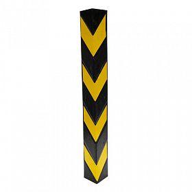 Protetor de coluna de borracha (cantoneira) 10x10x80cm