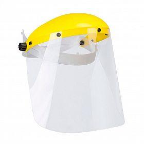 Protetor facial com viseira incolor hospitalar - Face shield