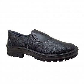 Sapato de Segurança Cartom com elástico e Bico/Biqueira de PVC