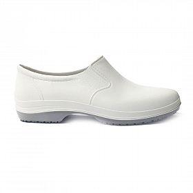Sapato Ocupacional tipo Crocs fechado Branco