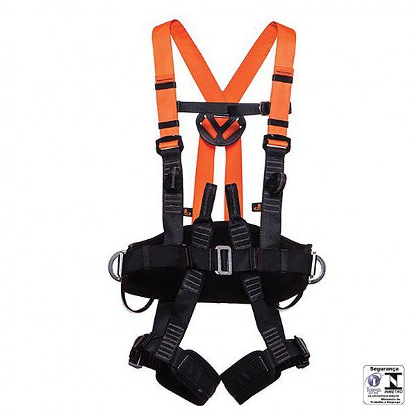 Cinto Segurança MG Cintos Paraquedista 4 pontos sem talabarte com regulagem total - para eletricista