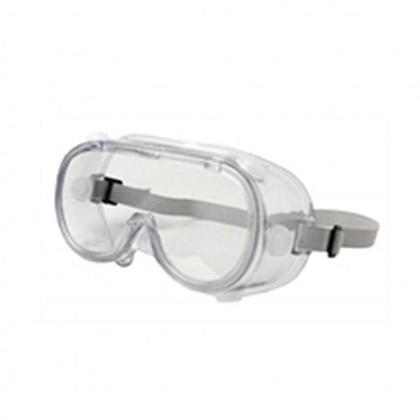 Óculos ampla visão perfurado / válvulado contra respingos